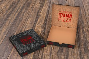 itallian pizza box